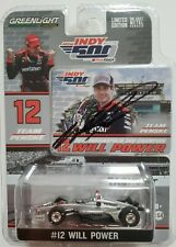 Greenlight 2018 Indy 500 Winner Will Power #12 Autographed Signed 1:64 Scale COA
