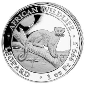 Somalia - 1.000 SH. 2021 - Leopard - African Wildlife - 1 Oz Platin PP