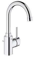 Grohe Concetto Single Hole Bathroom Faucet, 3213800A, Chrome