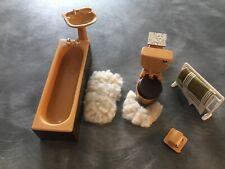 Lote De Trabajo Casa De Muñecas Muebles de baño