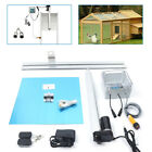 Heavy Duty Automatic Chicken Door Opener Timer Kits With Infrared Induction 66W