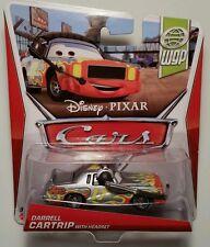 Disney Pixar Cars 2 • Darrell Cartrip with Headset • 2013 WGP Cardback Announcer