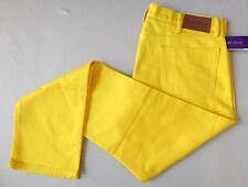 $495 Purple Label Ralph Lauren Jeans Pants 40 Actual: 41 x 35 YELLOW ITALY NWT