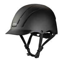 Troxel Riding Helmet Spirit Black Duratec Horse Safety Low Profile Medium