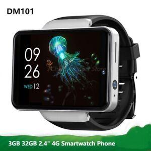 "2.41""Big Screen 4G LTE Smart Watch DM101 Face ID 3G+32GB 2080mAh Dual Camera GPS"