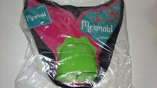 FINIS Mermaid Tail Monofin Pink Green Swimming Fin Youth Kids plus Pool Bag