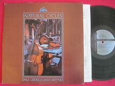 DALE CRIDER & LINDA BITTNER - NATURAL CYCLES (1978) ANHINGA ROOST SESAC FOLK LP