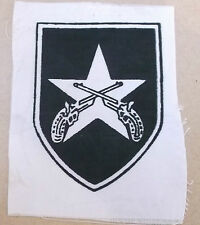 south vietnam regular police  vintage printed   cloth patch