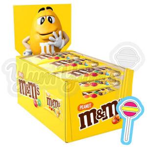 24 x 45g M&M's Peanut Bags | M&Ms MMs MM M and Ms | BB: 11/07/21
