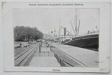 10268 PC Tjilatjap port indonesia AK Hafen Indonesien PC ship 1914