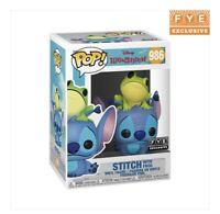 Funko Pop! Disney Lilo & Stitch STITCH WITH FROG! FYE Exclusive! VHTF! #986
