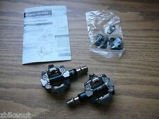 Clipless Bicycle Pedals Shimano XTR PD-M980 SPD Mountain w/Cleats New