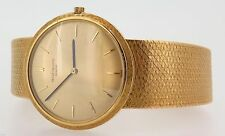 Men's Solid Gold Case Wristwatches with 12-Hour Dial