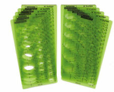 Berol® Rapidesign® Template: R-70S Ellipse Template Set