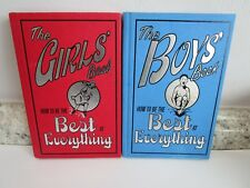 Best of Everything for Boys and Girls Hardcover Set of 2 Useful Fun SKills Kids