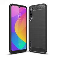 Xiaomi Mi A3 Handy Hülle Silikon Case Schutzhülle Handyhülle Cover Carbon Farben