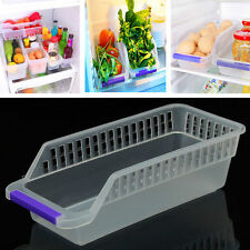 Storage Collecting Box Basket Kitchen Refrigerator Fruit Organiser Rack Utility