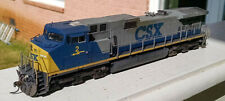 CSX 2 KATO AC4400CW (C44-9W) DCC, LEDs, Custom Weather, and Detailed.
