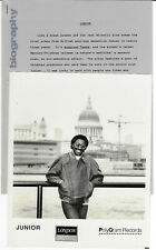 "Junior ""Acquired Taste"" Soul R&B New Jack Swing Original Press Kit 1985"