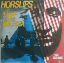 """7"""" 1979 ROCK RARE IN MINT- ! HORSLIPS : The Man Who Built America"""