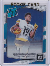 JUJU SMITH-SCHUSTER ROOKIE CARD Pittsburgh Steelers 2017 Donruss Optic RATED RC