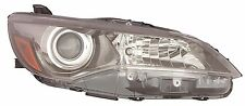 TOYOTA CAMRY 2015 2016 SE XSE HALOGEN HEADLIGHT HEAD LIGHT FRONT LAMP - RIGHT