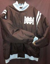 Rucker Vintage Basketball Collection Hawks Jacket Light Blue And Black Size 5XL