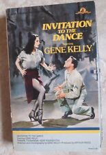 Gene kelly dance musicals broadway vhs tapes ebay invitation to the dance vhs tape gene kelly stopboris Images