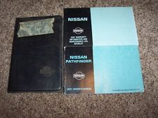 1997 Nissan Pathfinder Owner Owner's User Guide Operator Manual XE SE LE 3.3L V6