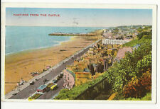 Sussex - Hastings From The Castle - Postcard franked 1945