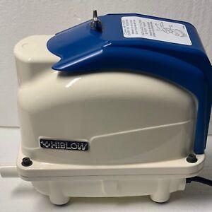 New HIBLOW XP80 Medium Capacity Air pumps for septic and aqua tanks