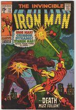 Invincible Iron Man  #22     FN