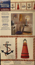 Nautical Images By Plaid Stencil Decor Multi-Layer Borders 26711