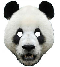 PANDA ANIMALE 2D CARTA PARTY MASCHERA COSTUME TRAVESTIMENTO ZOO TEMA CARINO