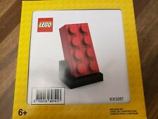 Authentic LEGO #6313287 BUILDABLE RED BRICK 2019 EXCLUSIVE VIP PROMO