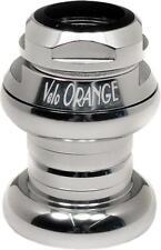 "Velo Orange Grand Cru 1"" Threaded Sealed Bearing Headset: Polished Silver"