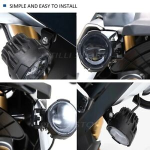 Motorcycle Fog Lights LED Auxiliary Fog Light Driving Lamp For BMW F750GS F850GS