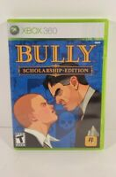 Bully Scholarship Edition Includes Poster (Microsoft Xbox 360, 2008)