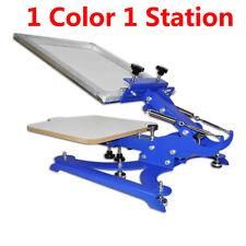 Brandnew 1 Color 1 Station Screen Printing Machine / DIY T-Shirt Press Printer