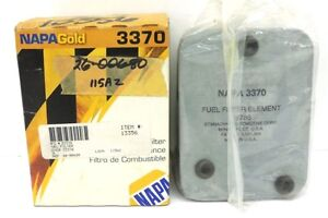 NAPA GOLD 3370 FUEL FILTER ELEMENT 18786, MADE IN USA