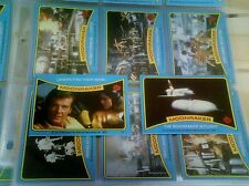 1979 TOPPS MOONRaker SET 1-99 COMPLETE MINT PAGES  JAMES BOND MOON RAKER