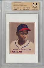 """1989 Bowman Reprint Inserts 1949  Leroy """"Satchell"""" Paige (#8) BGS9.5 BGS"""