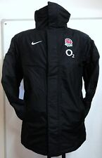 ENGLAND RUGBY PLAYERS BLACK SIDELINE JACKET BY NIKE ADULTS SIZE SMALL BRAND NEW