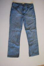 LEVIS 627 straight fit jeans pantalon bleu clair stonewashed w33 l32