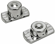 REAR AXLE COVERS CHROME DYNA FXD SUPER GLIDE FXDL LOW RIDER FXDWG WIDE GLIDE