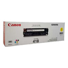 Canon CART-418Y Yellow Toner (2,900 Pages)