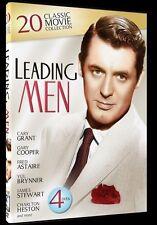 DVD Movie - LEADING MEN 20 Classic Movie Collection 4 Discs - Brand New - Reg 4