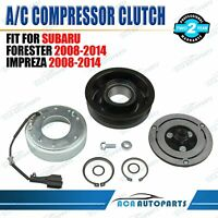 for Subaru Forester 2008-2010 AC Compressor Clutch Kit Coil Pulley Assembly