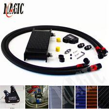 16 Row Engine Oil Cooler Kit + Sandwich Plate For BILLET LS1 LS2 LS3 LSX VE HSV