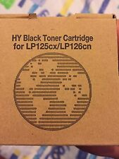 New, Lanier Hy Black Toner Cartridge For Lp125Cx/Lp126Cn. Edp Code 888336.